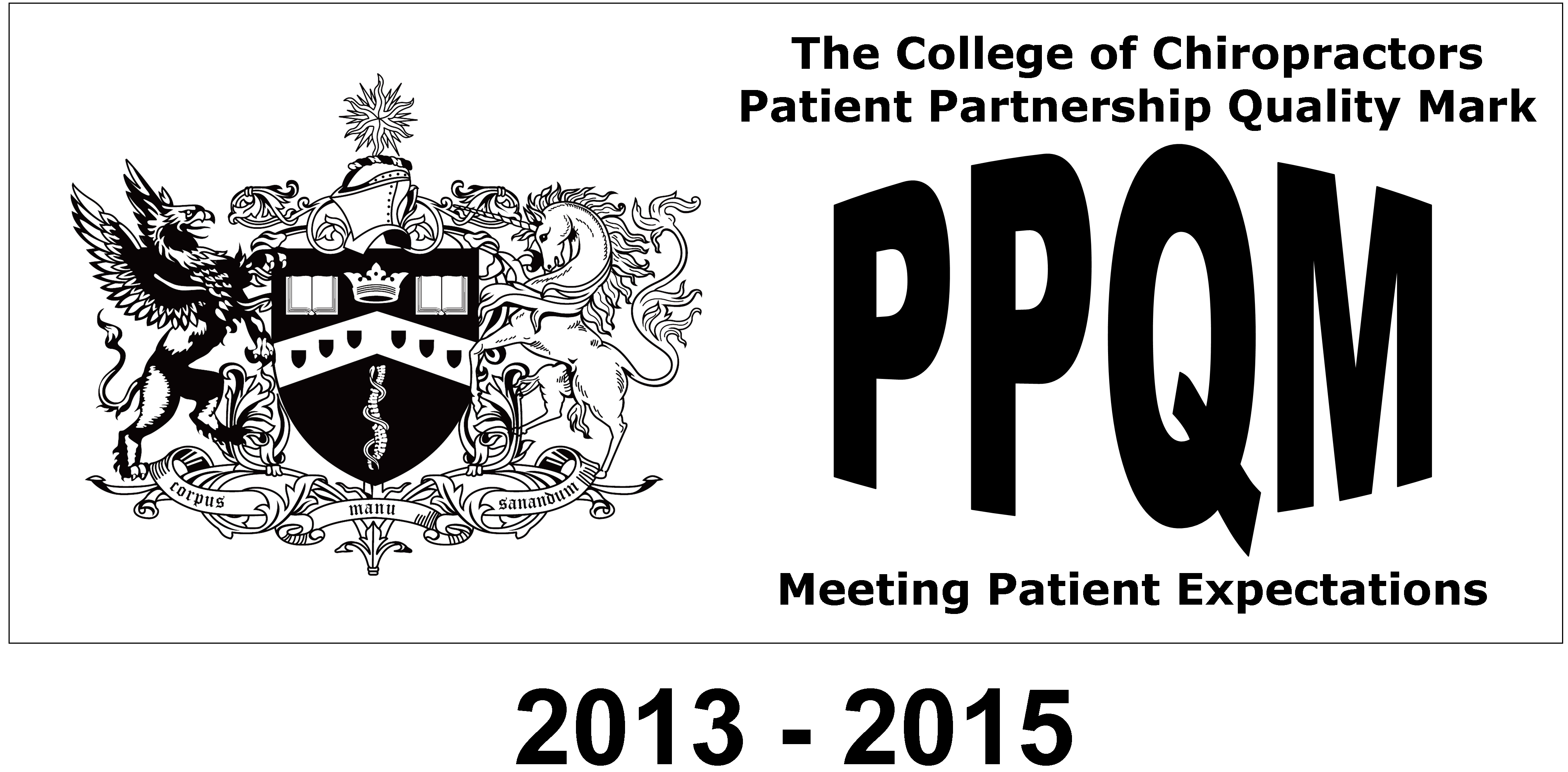 The College of Chiropractors PPQM 2013-2015